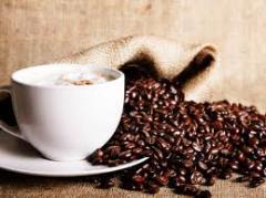 Coffee of deep roasting