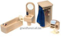 Мини–мебель 8, мебель для кукол Ванная комната