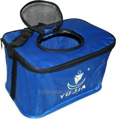 Bag for a batch of bait / Caen for the live bai
