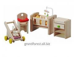 Los mini-muebles 18, los muebles de juguetes para