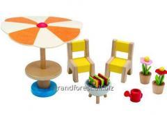 Мини–мебель 21, игрушечная мебель из дерева