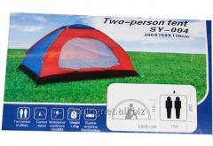 Палатка однотентовая 2-х местная