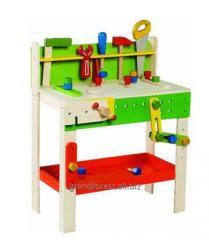 Набор строителя 8, игрушечные инструменты из дерева