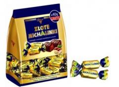 The candies which are packed up. Import the