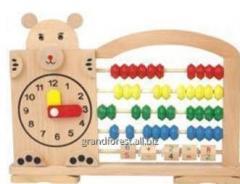 Моторика 10 Счеты, счеты деревянные детские
