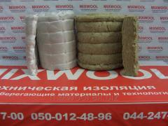 Mat mineral-cotton proshivny heat-insulating