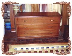 Furniture from natural mahogany (Kiev), wooden