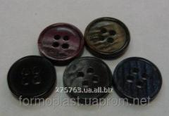 Buttons proshivny 14 mm, 2, 4 openings (and other
