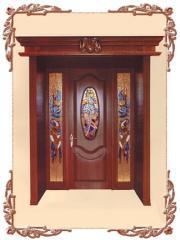 Doors from the massif (Kiev), a door solid pine, a