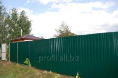 Профнастил стіновий (заборний)