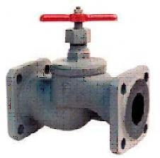Valve locking pig-iron flange 15kch34p (19p) DN25,