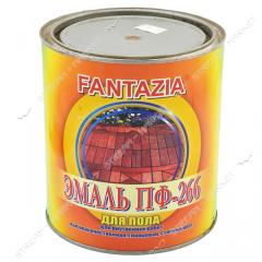 Эмаль алкидная ПФ-266 Фантазия 2.8л для пола красно-коричневая 227485