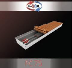 Vnutripolny convector FanCOil FC75 mini