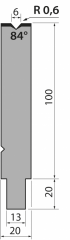 Matrixes 30 °, H=55 mm - H=70 mm