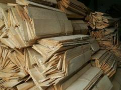 Gont roofing chipped-wooden roof (shindel)
