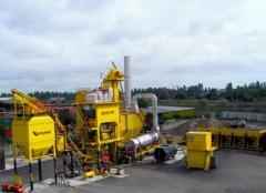 Installation asfaltosmesitelny KDM 201