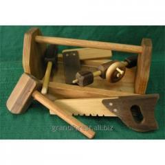Набор строителя 1, игрушки из дерева