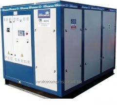 BB 100/8 compressor installation