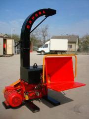 Rubalny machine DP660E, wood-fragmenting machine