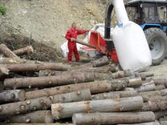 Drewna rozdrabniacz DP660T (zamontowany na ciągniku), rębak, shheporez