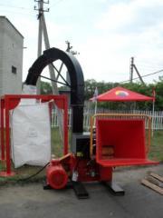 Дробильная машина DP660E Олнова, дереводробильная