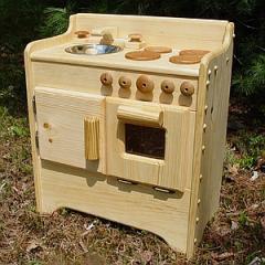 Мини-мебель Юная хозяйка 4, деревянные игрушечные кухни