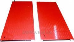 Back movable platforms 750kh600kh40mm.