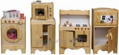 Los mini-muebles el Juego el ama Joven 5