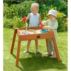 Bacs à sable pour les enfants
