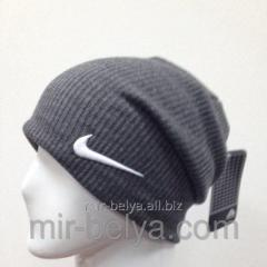 Cap sports man's Nike of stockings gray