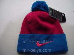Men's Nike Cap with a bubo warm woolen