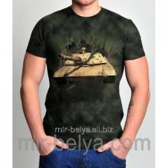 Men's 3D t-shirt tank