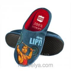 Men's house slippers of a slipper for the