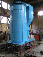 Vibrocentrifugal separator of BTsS-50