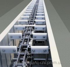 Conveyor chain scraper zavalny hole TSTsm-100
