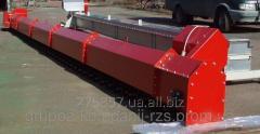 Conveyor chain scraper nadsilosny TSTsm-150