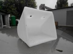 Polymeric ladle