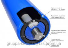 Roller conveyor conveyor for a rolikoopor a