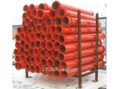 Pipe self-flowing ST-2, 2,0 mm z flanges
