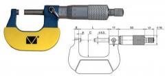 The micrometer is smooth