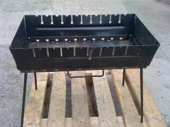 Brazier suitcase tourist on 10 skewers, mm metal 3