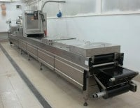 The vacuum and thermoforming packing Multivac R