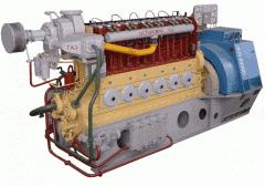 Двигатель-генератор ДвГА-500-1 газовый