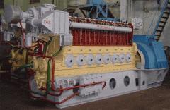 Двигатель-генератор ДвГА-630 газовый стационарный