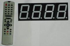 Светодиодый цифровой индикатор с возможностью
