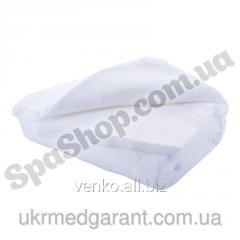 Towel disposable cut (white) 40kh80sm, 50 pieces