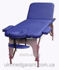 Folding massage table of Den Comfort, Art of