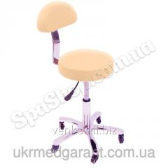 Stool of the master of CH-815 creame (light-beige)