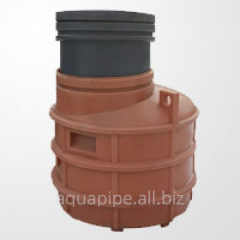 Plastic caisson for a well
