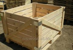 Eurocontainers for storage of apples